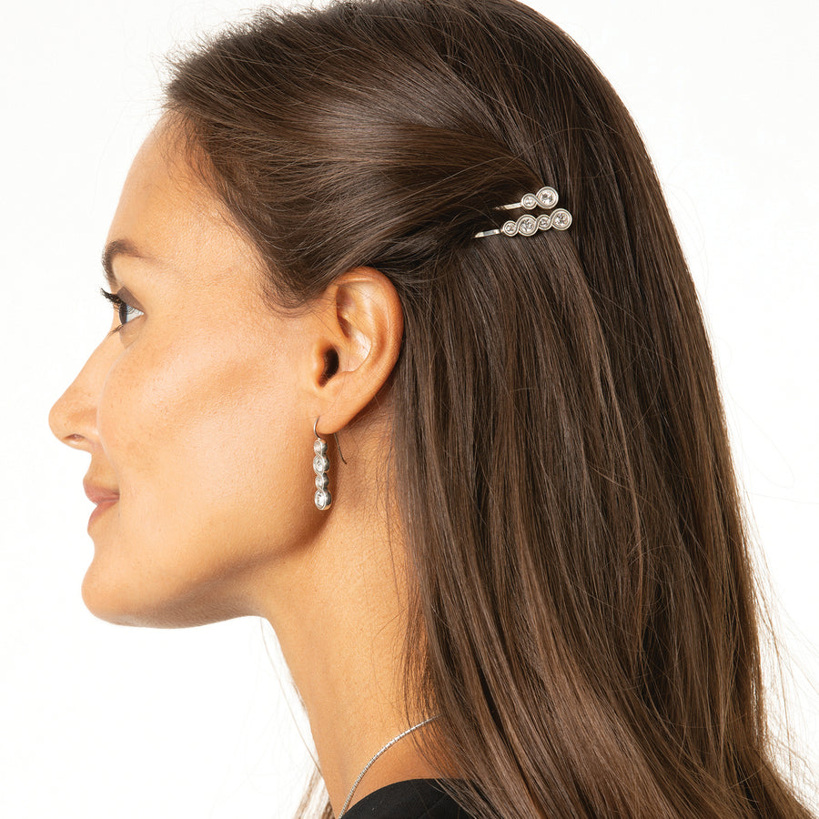 Brighton Infinity Sparkle Bobby Pin Set