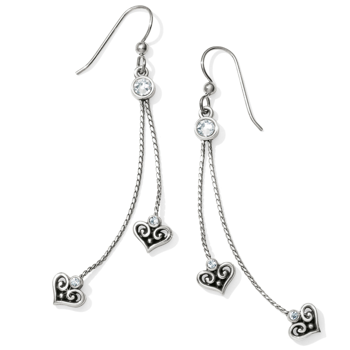 Alcazar Princess French Wire Drop Earrings