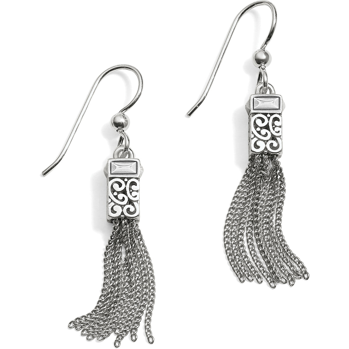 Baroness Tassel French Wire Earrings