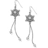Selestia French Wire Drop Earrings
