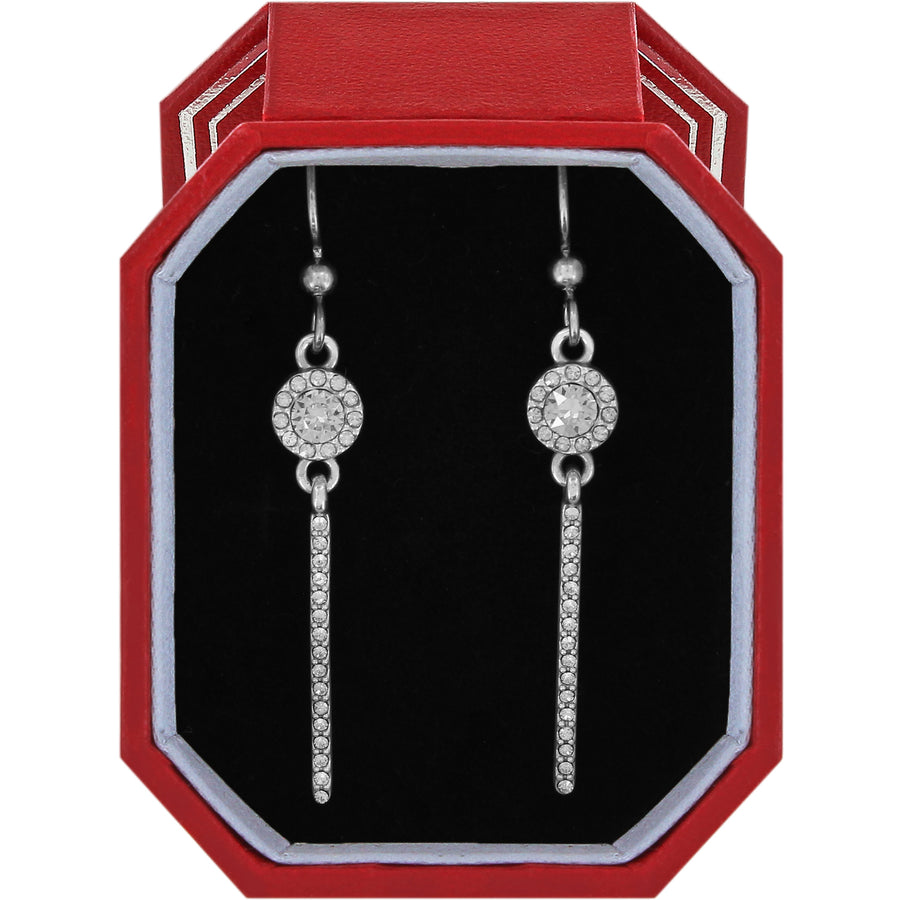Brighton Illumina Slim French Wire Earrings Gift Box