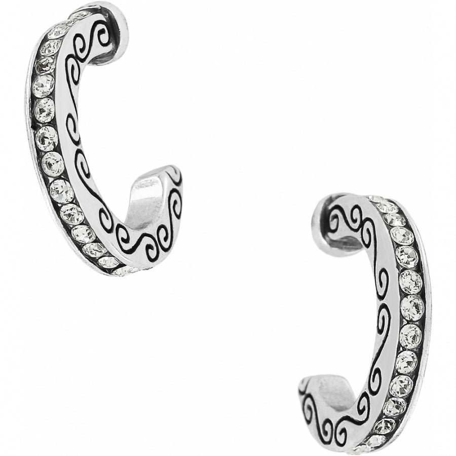 Brighton Secret Of Love Mini Hoop Earrings