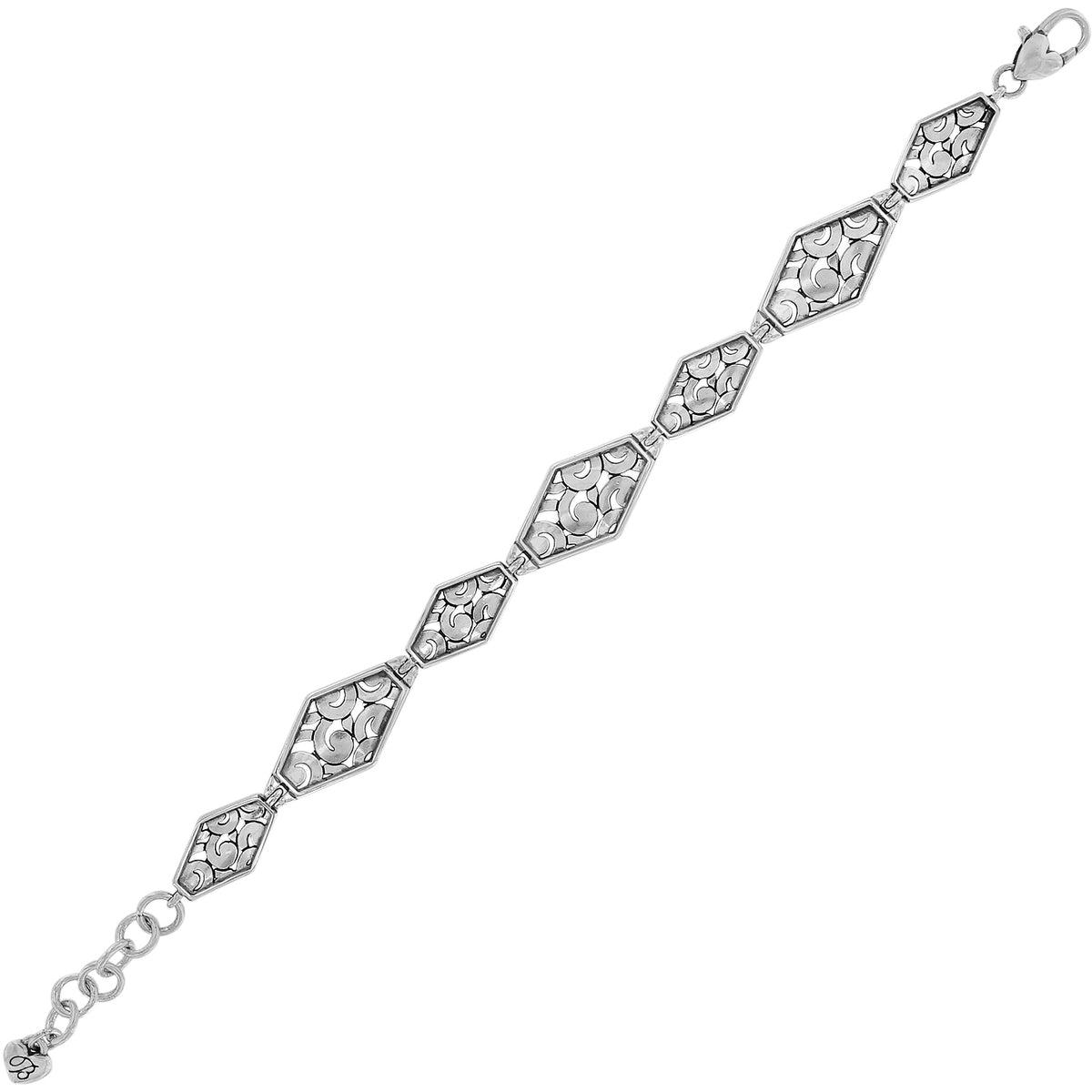 Deco Diamond Link Bracelet