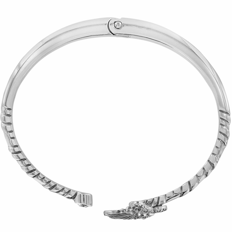 Brighton Solstice Butterfly Hinged Bangle