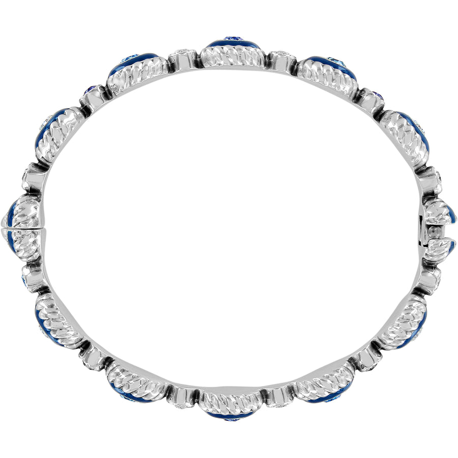 Brighton Halo Eclipse Hinged Bangle