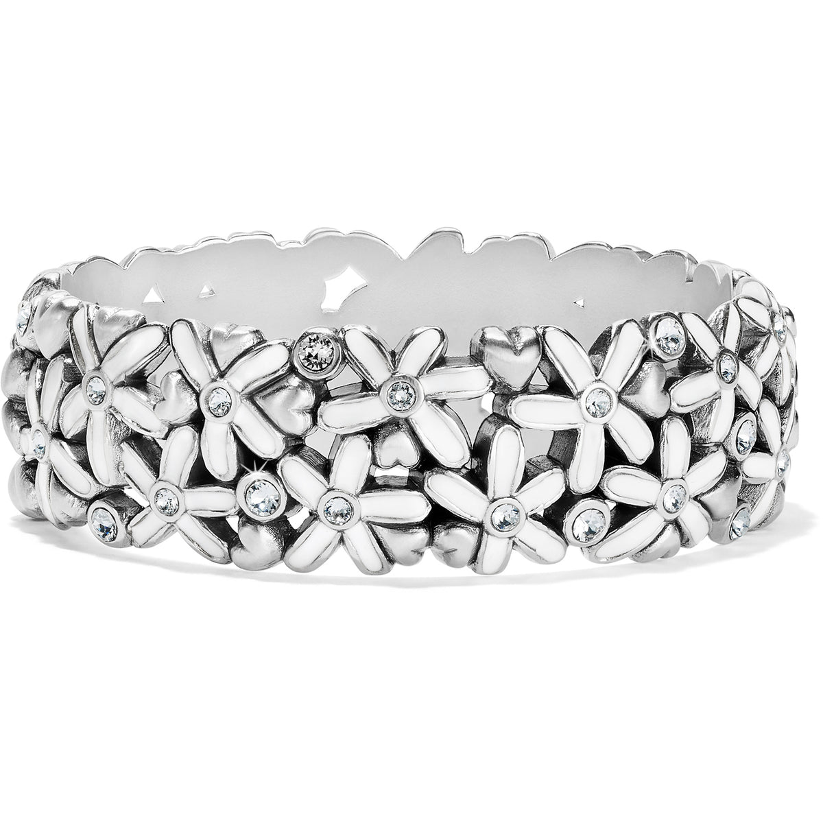 Brighton Love Bouquet Hinged Bangle