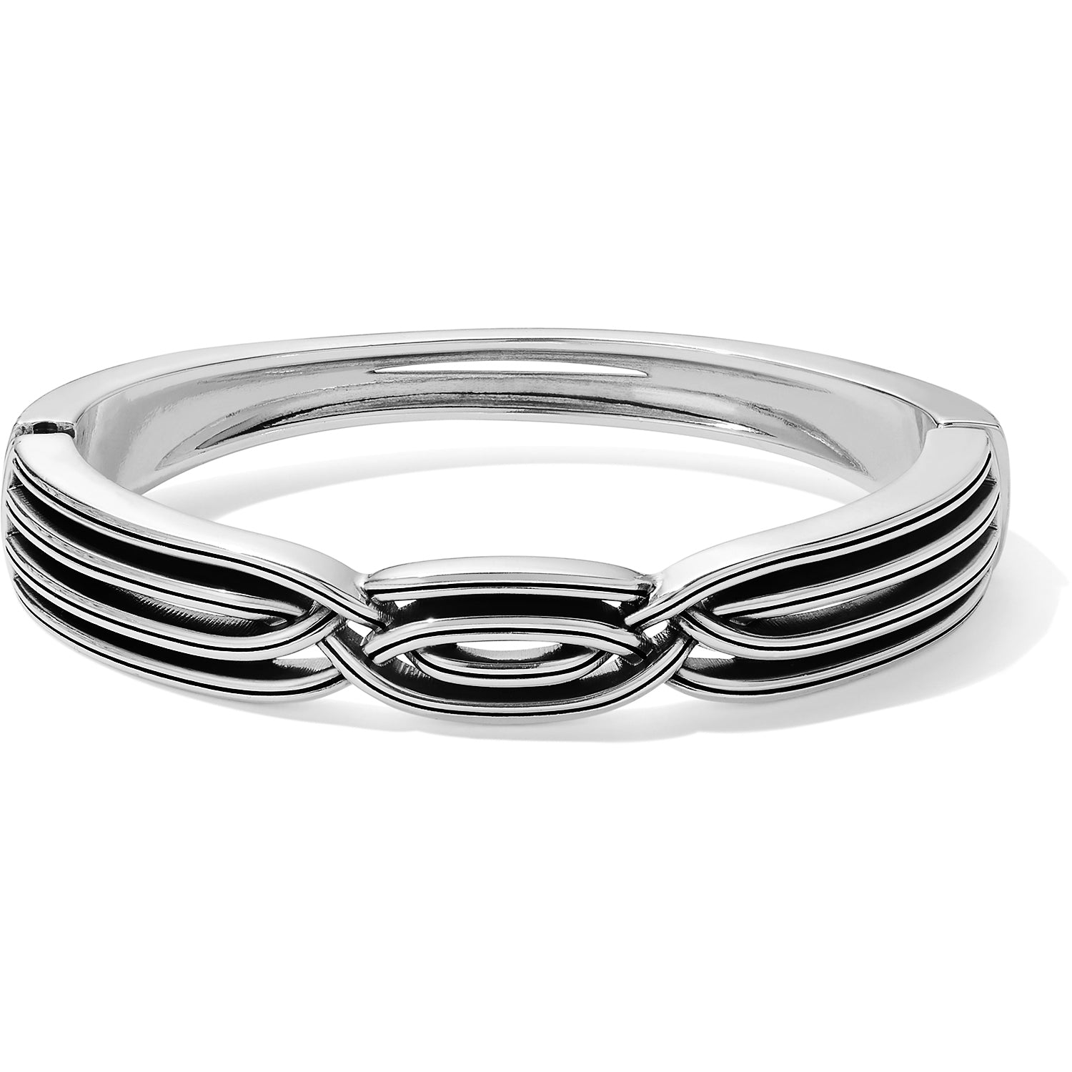 Intertwine Hinged Bangle