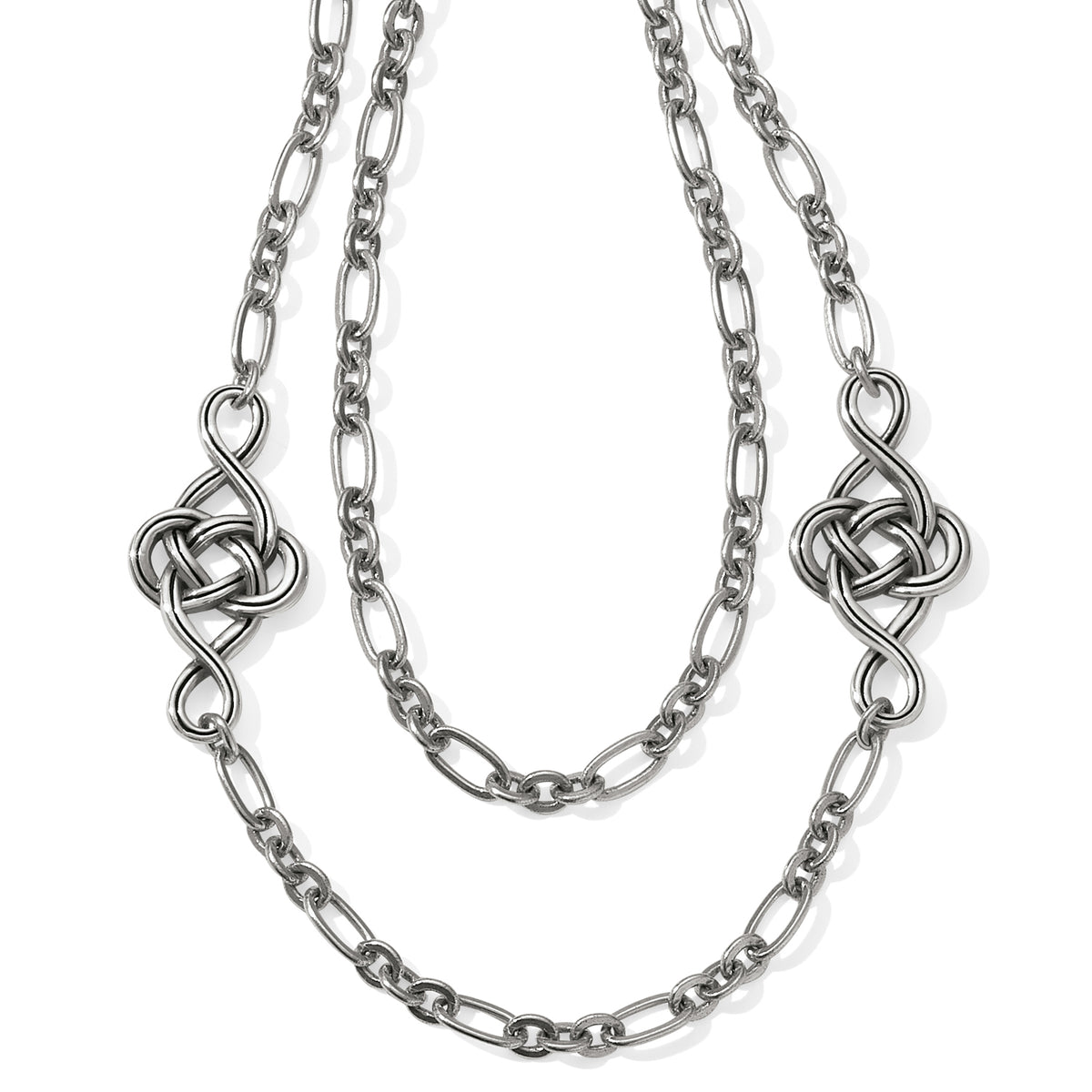 Interlok Knot Layer Necklace