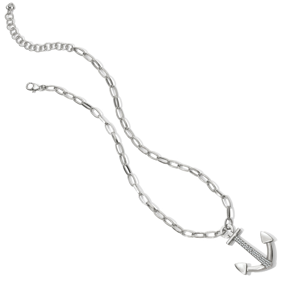 Coastline Reversible Anchor Link Necklace