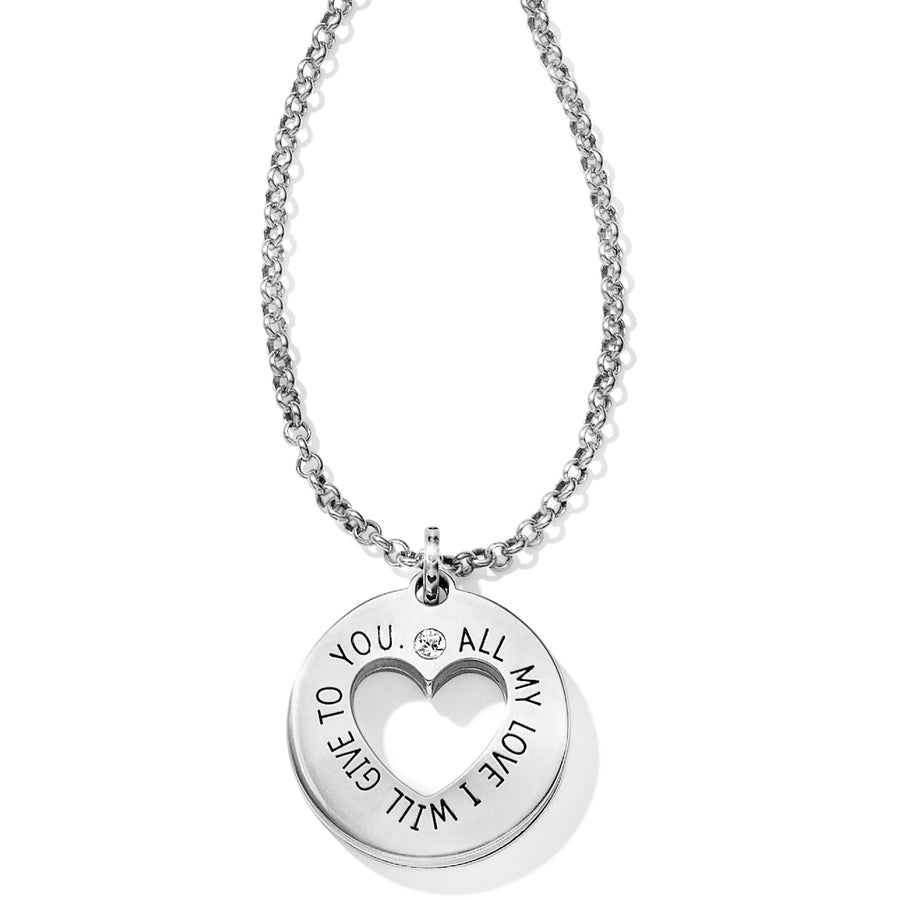 Circle Of Love Pendant Necklace