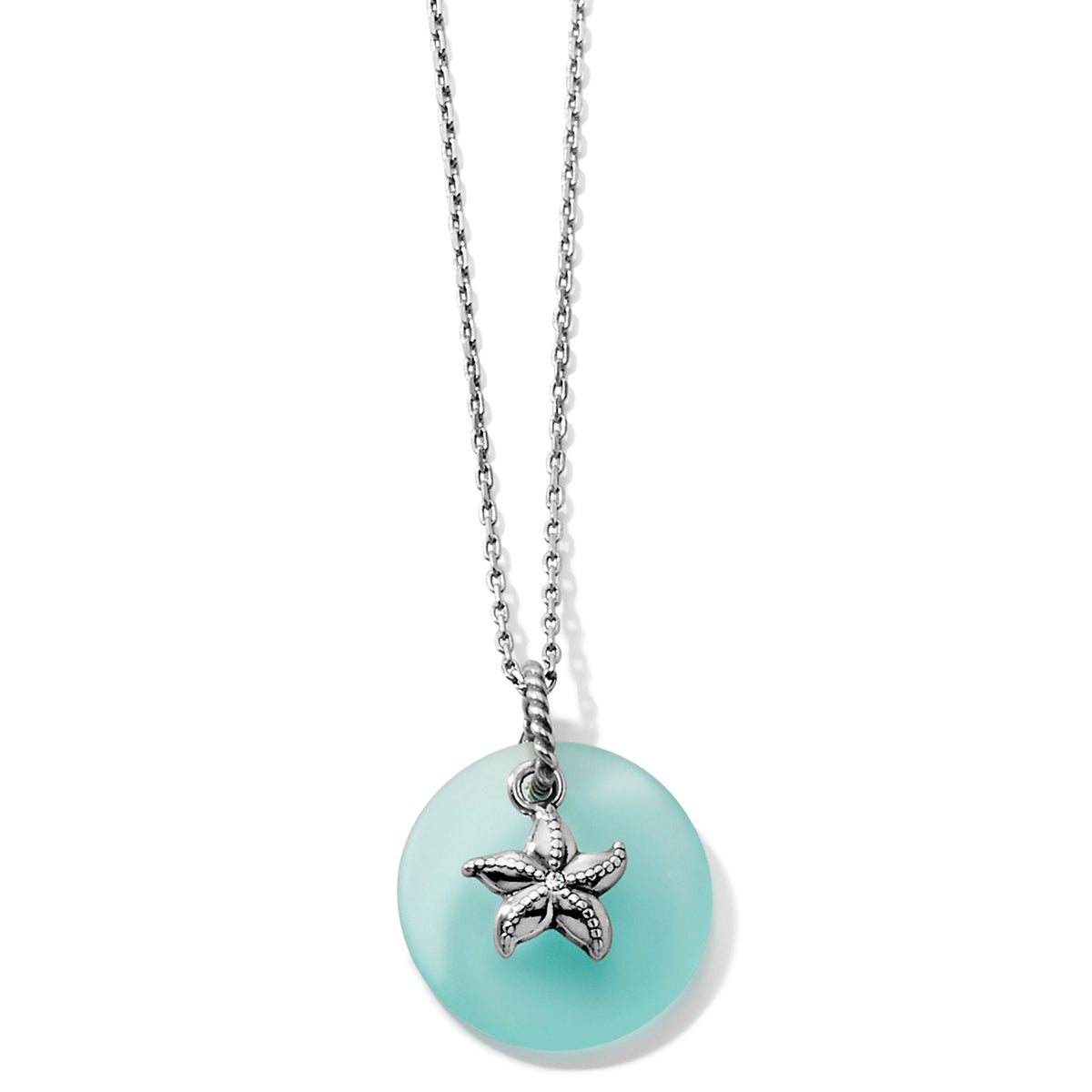 Brighton Sea Shore Star Glass Necklace