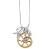 Brighton Sea Shore Nautilus Convertible Necklace