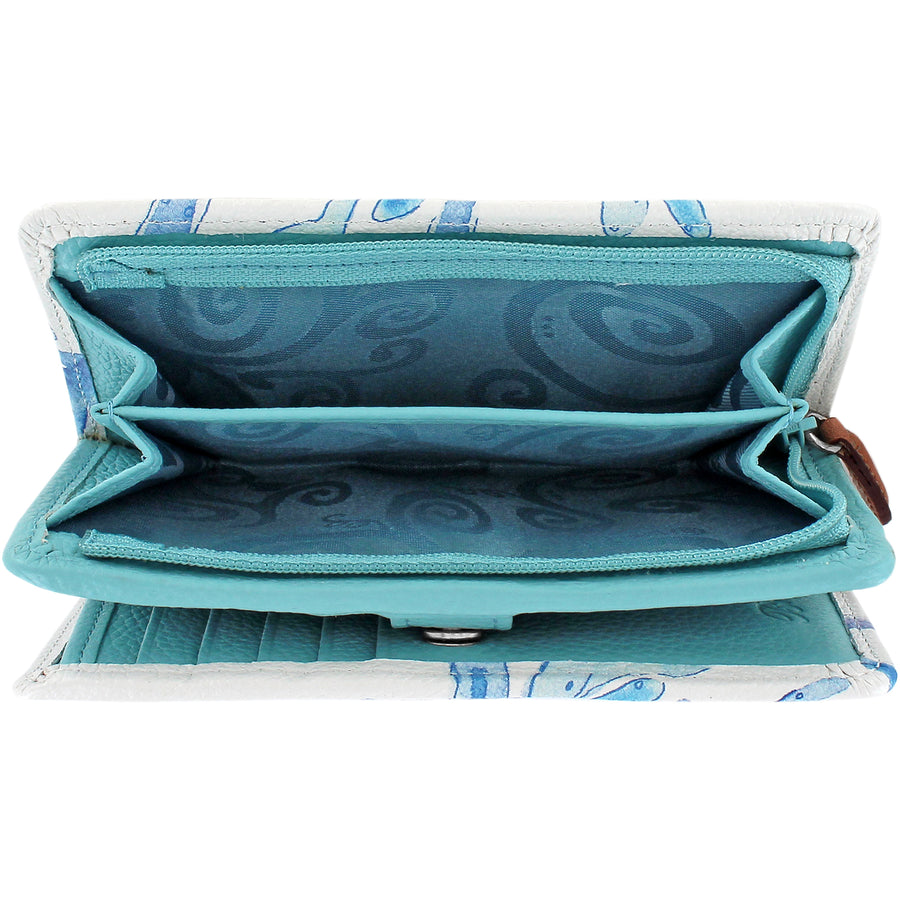 Sea Shore Medium Wallet