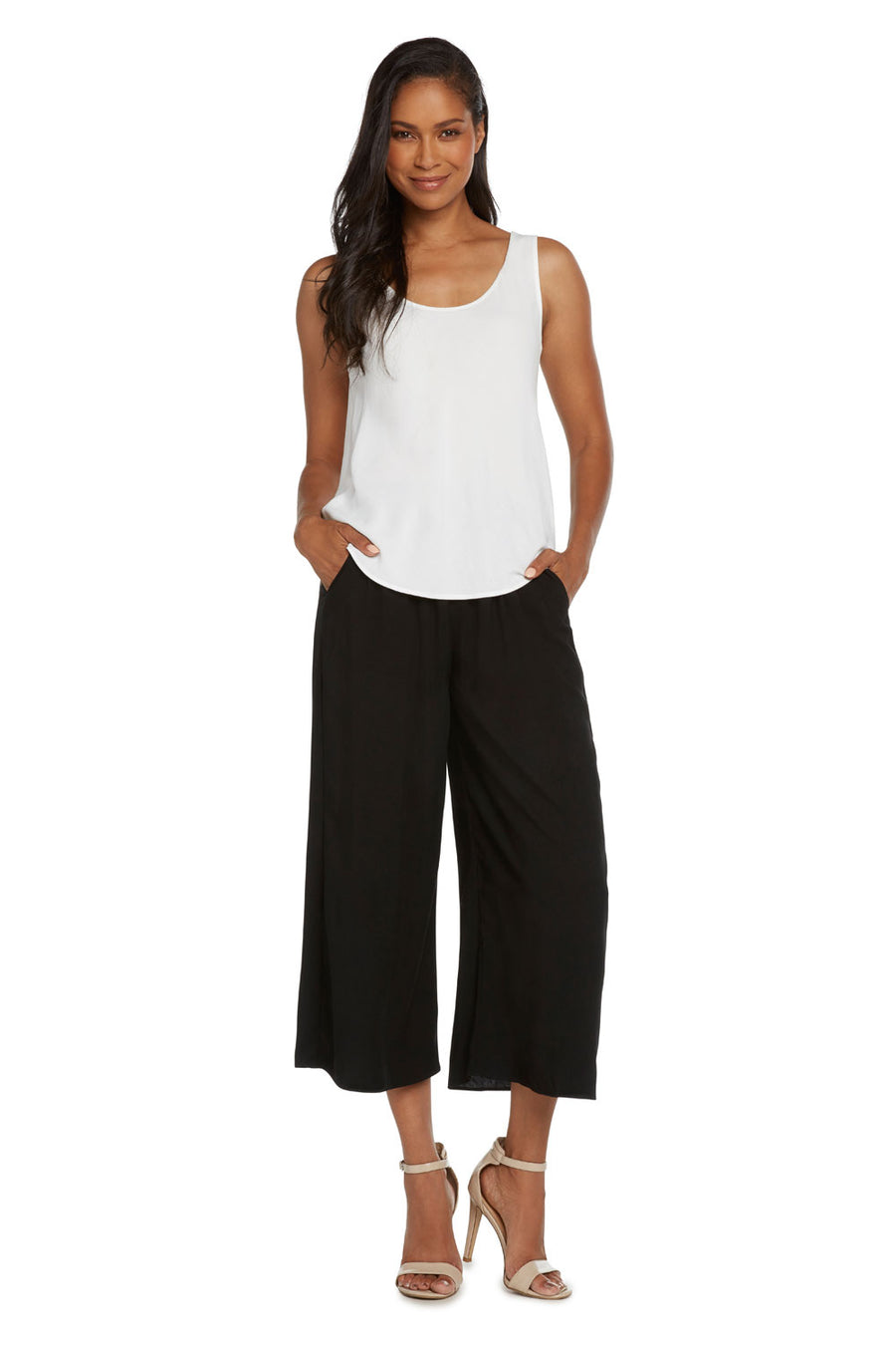 Jams World Wide Leg Crop Pants