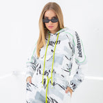 Load image into Gallery viewer, LBM Neon Hoodie | WHT GRN