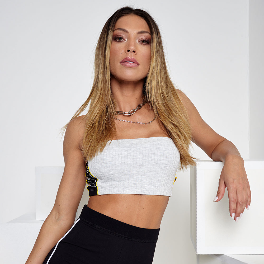 LBM Cropped Top | GRY
