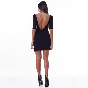 LBM Glam Rock Hardcore Dress | BLK
