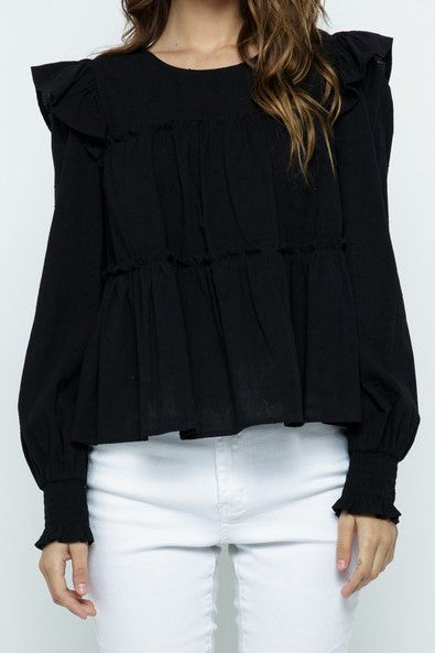 Holley Top in Black