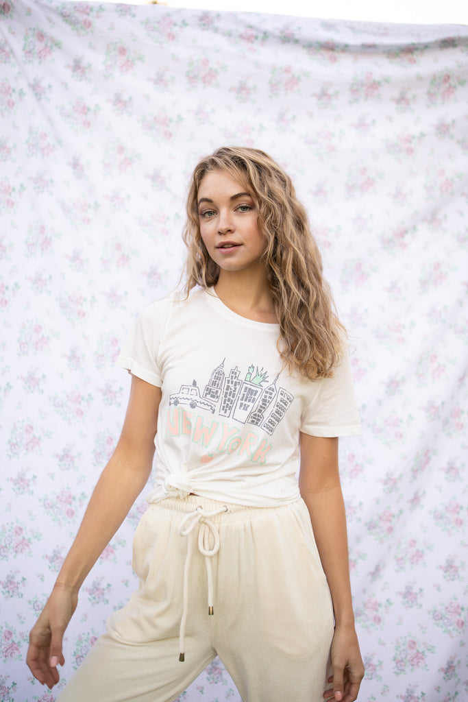 New York City Girl Vintage Tee