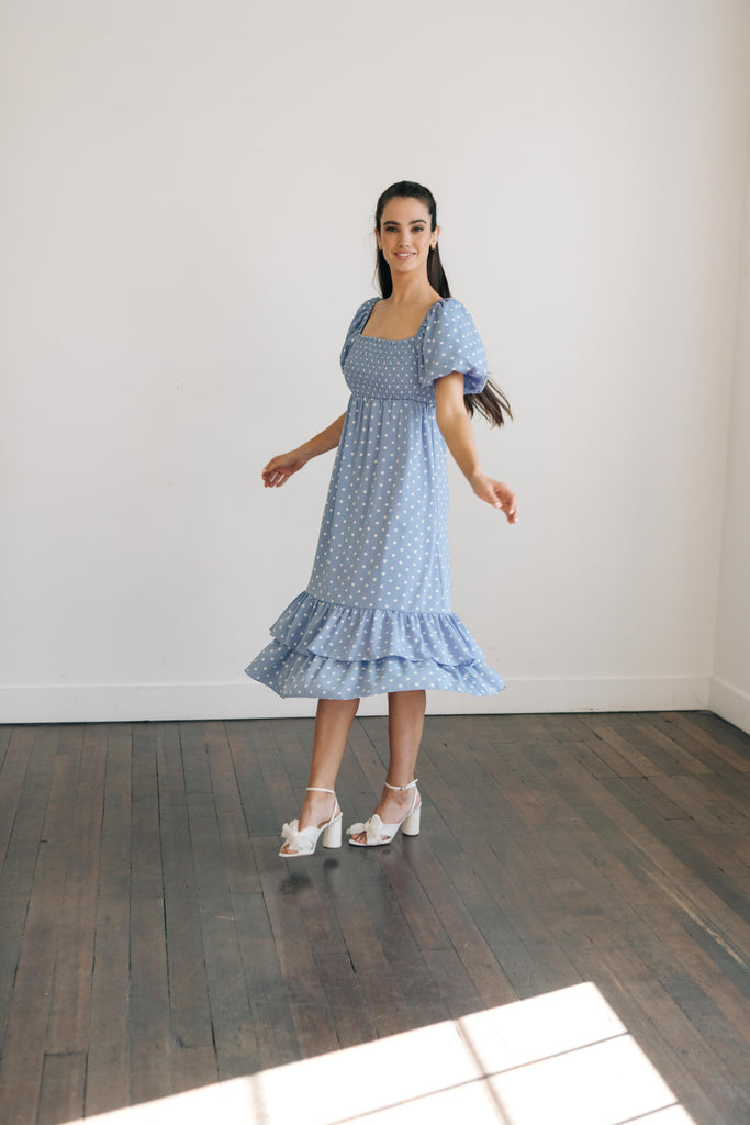Betty Polka Dot Dress