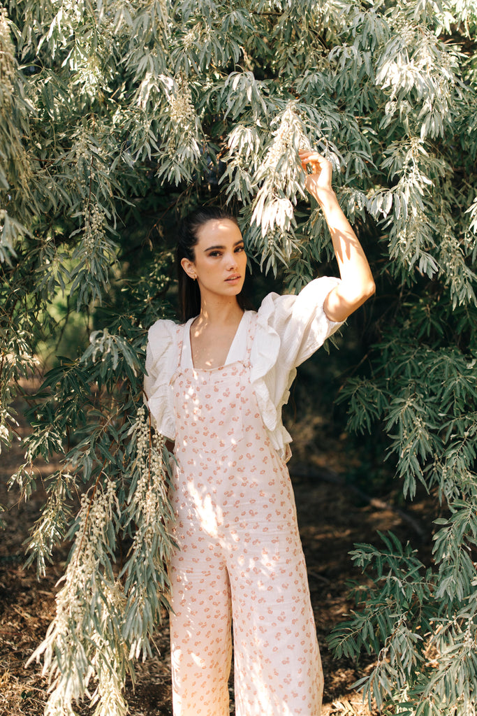 Meadow Picnic Overalls