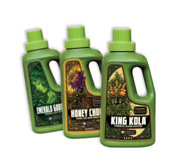 Emerald Harvest Emerald Harvest nutrients King Kola Cali Pro Honey Chrome Emerald Goddess Emerald nutrients