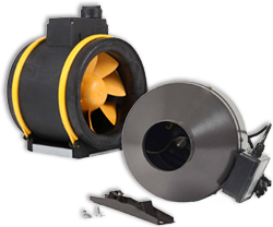 Inline Fans, Wall Fans and more