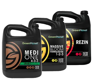 Green Planet Nutrients Green Planet Medi One Green Planet Rezin Green Planet Massive