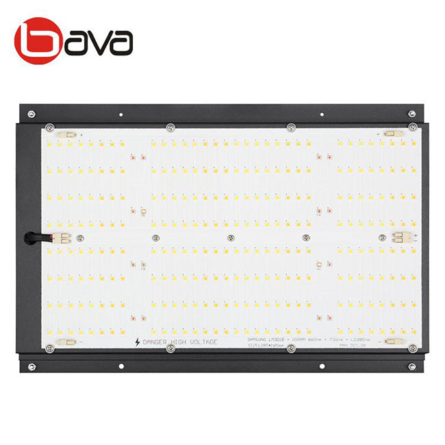 120W BAVAGREEN LED Grow Light Mixed LM301H w/ 660nm/730nm and UV in-stock and ready to ship today Free Shipping on orders over $99 in Canada