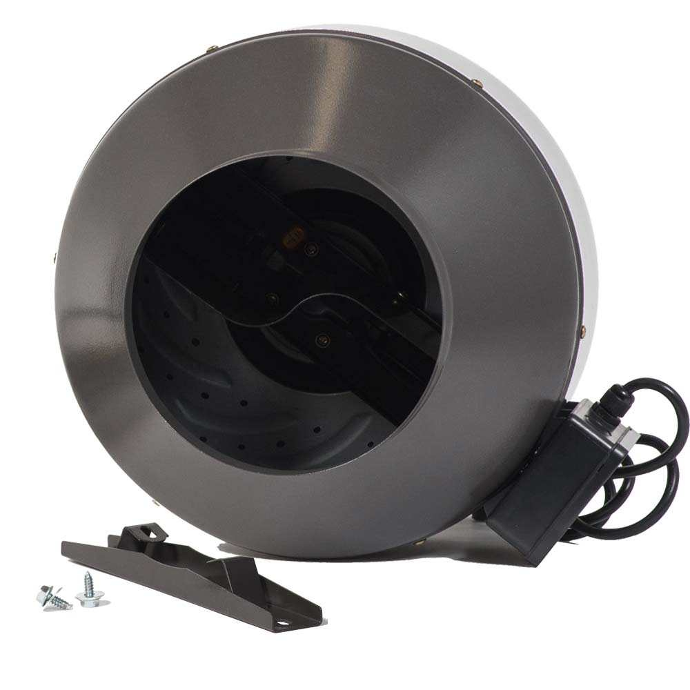 "10"" Metal Inline Fan 706 CFM"