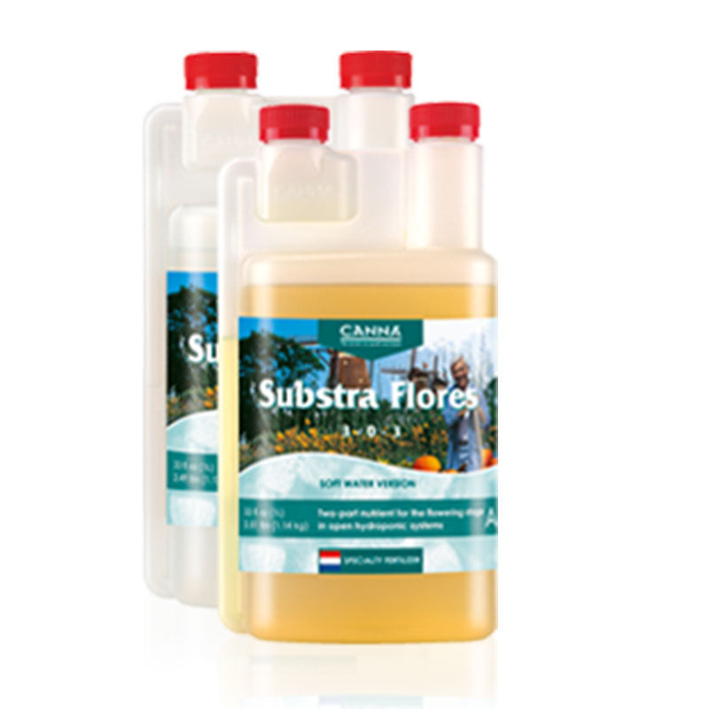 Canna Substra Flores A&B Soft Water - 2L