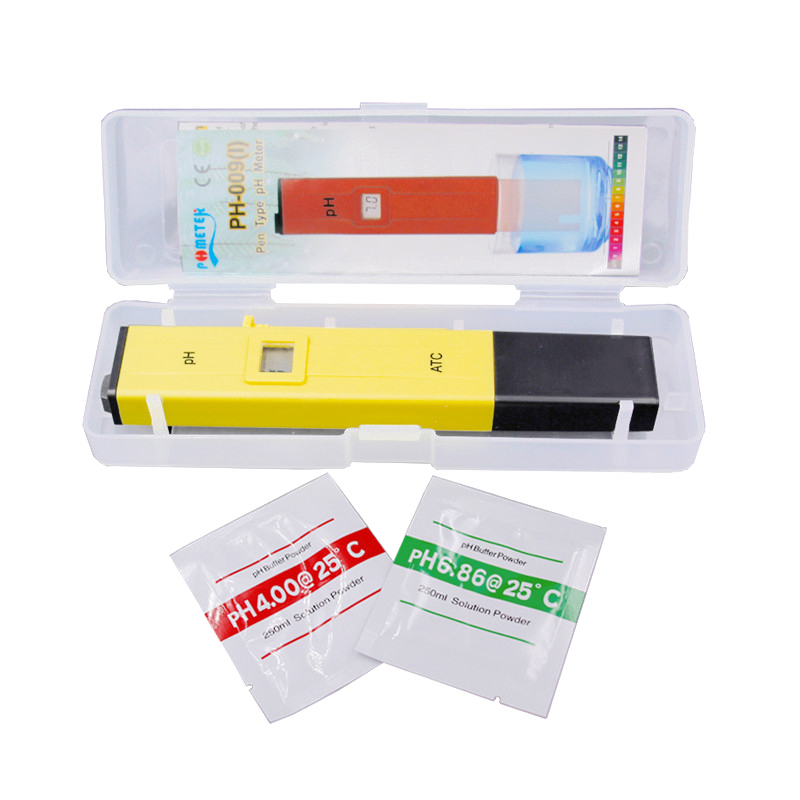 Digital Pen-Type pH Meter - pH Tester