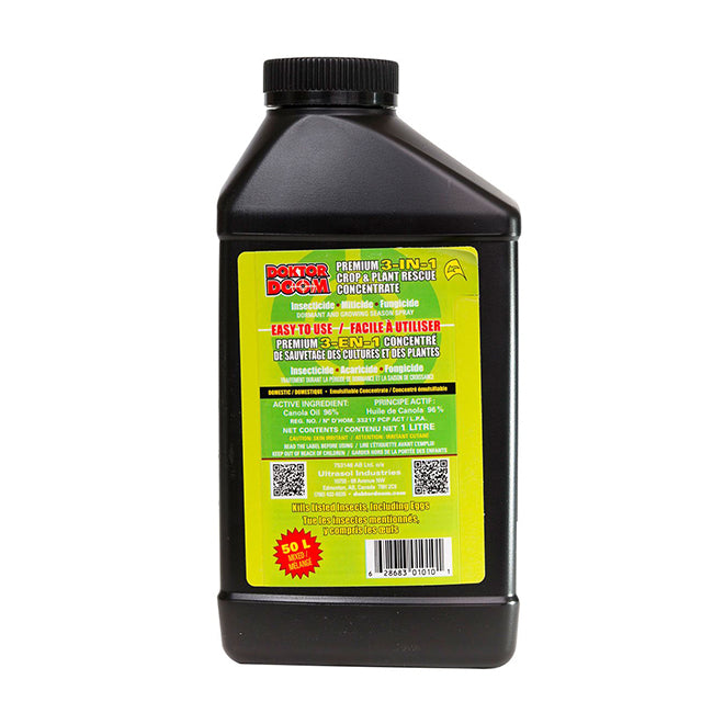 Doktor doom 3-in-1 plant & crop rescue concentrate - 1L
