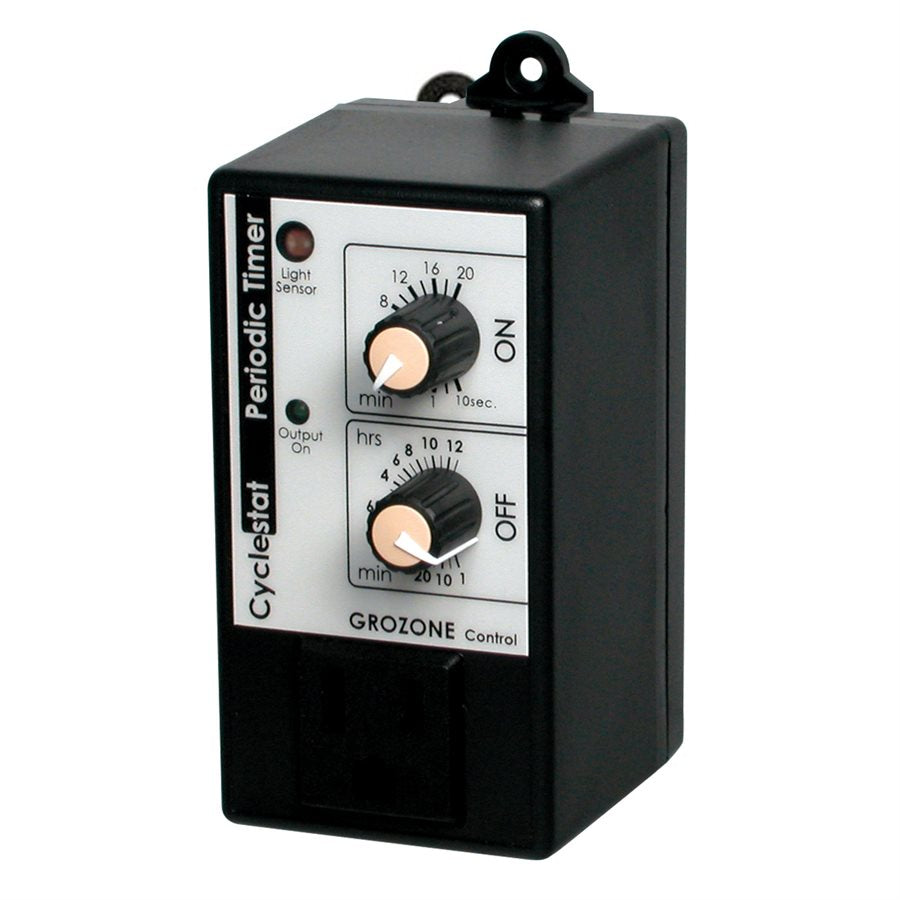 Grozone CY1 Periodic Repeat Cycle Timer w/ Photocell