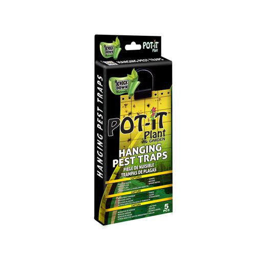 Knock Down Pot-It Pest Traps - Hanging