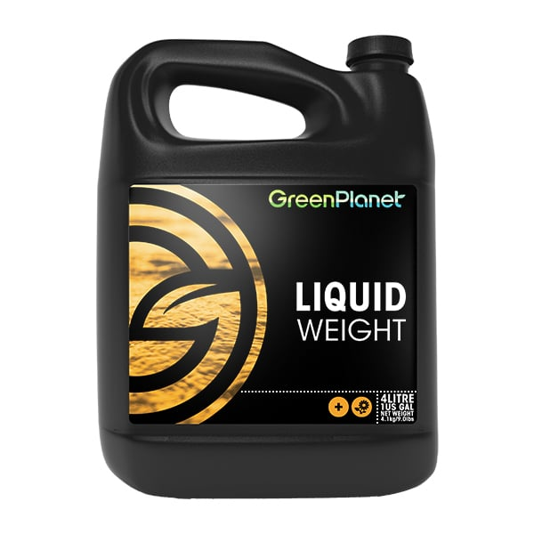 Green Planet Nutrients Liquid Weight Supplies a readily available blend of carbohydrates to support beneficial microbes. Liquid Weight is a supplement blend of simple and complex carbohydrates that support the plant and beneficial microbial life in the root zone. This leads to an increase in the absorption of essential nutrients that help develop impressive aromatic flowers and fruits.