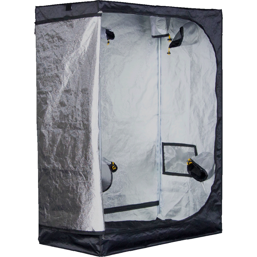 Mammoth Grow tent Mammoth Pro 120L premium grow tent front cutout