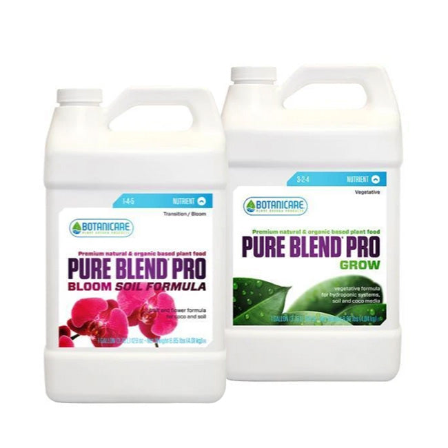 Botanicare 4L Duo - Pure Blend Pro Grow + Bloom