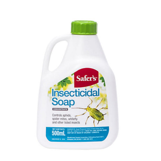 Safer's Insecticidal Soap Concentrate - 500ml