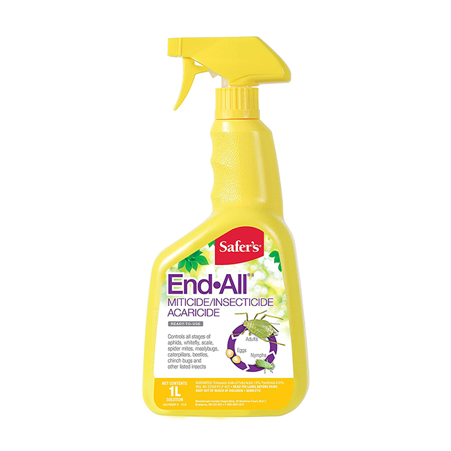 Safer's End All, Spray Bottle - 1L