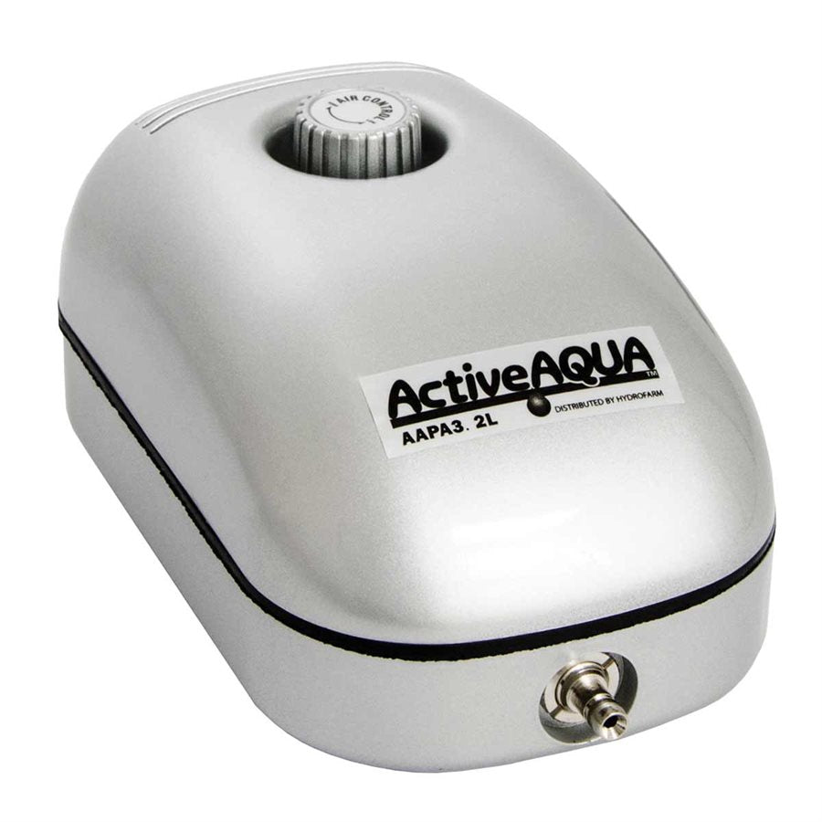 Active Aqua Air Pump 1 Outlet, 2W,  3.2L/min