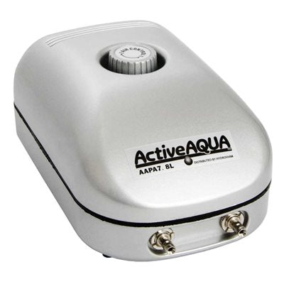 Active Aqua Air Pump 2 Outlet, 3W,  7.8L/min
