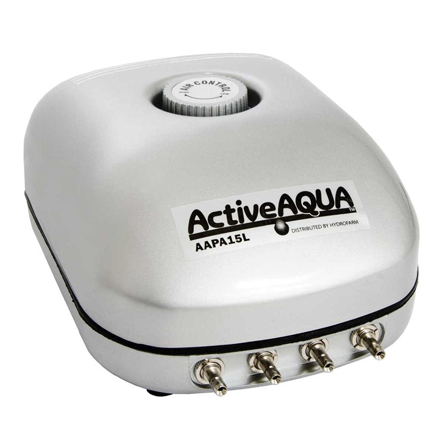 Active Aqua Air Pump 4 Outlet, 6W,  15L/min