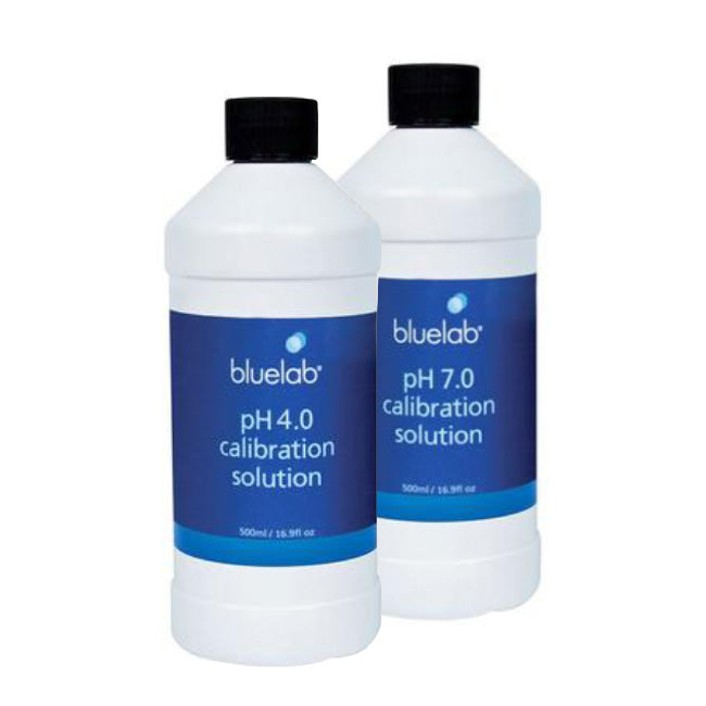 bluelab pH calibration solution 4.0 & 7.0 - 500ml