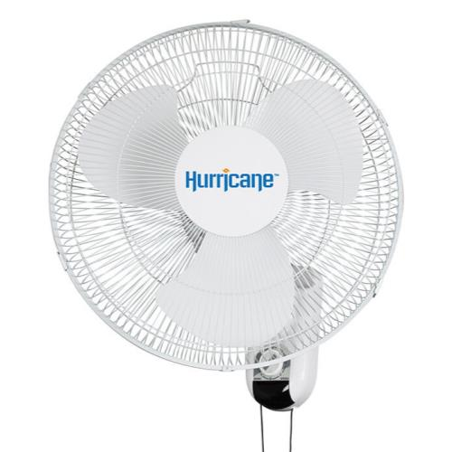 "Hurricane Classic 16"" Wall Mount Oscillating Fan"