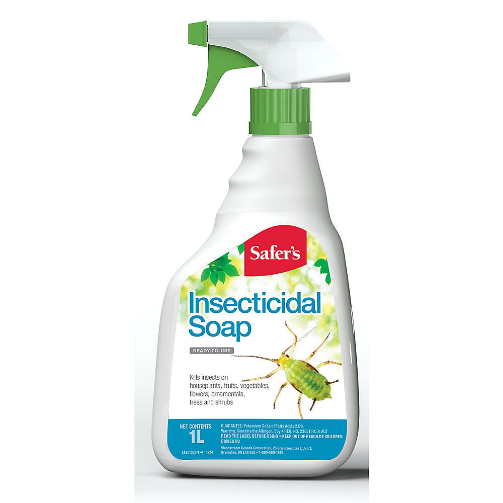 Safer's Insecticidal Soap Spray Bottle - 1L