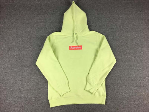 Supreme Hooded Sweatshirt Green
