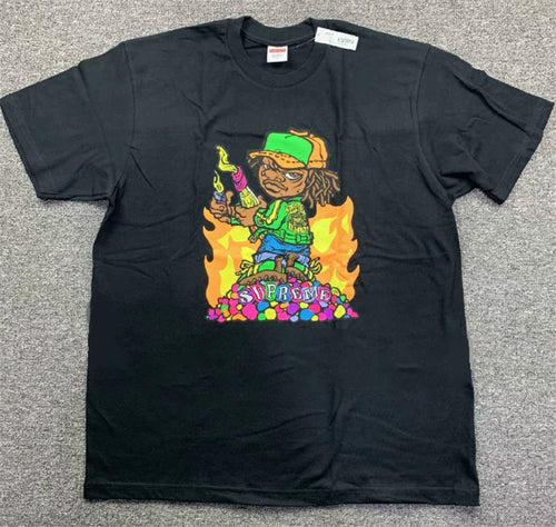 Supreme Molotov Kid Tee Black – SS19