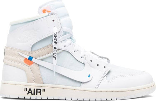 OFF-WHITE X AIR JORDAN 1 RETRO HIGH OG WHITE