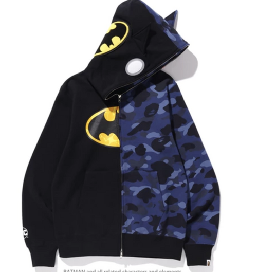 BAPE X DC BATMAN